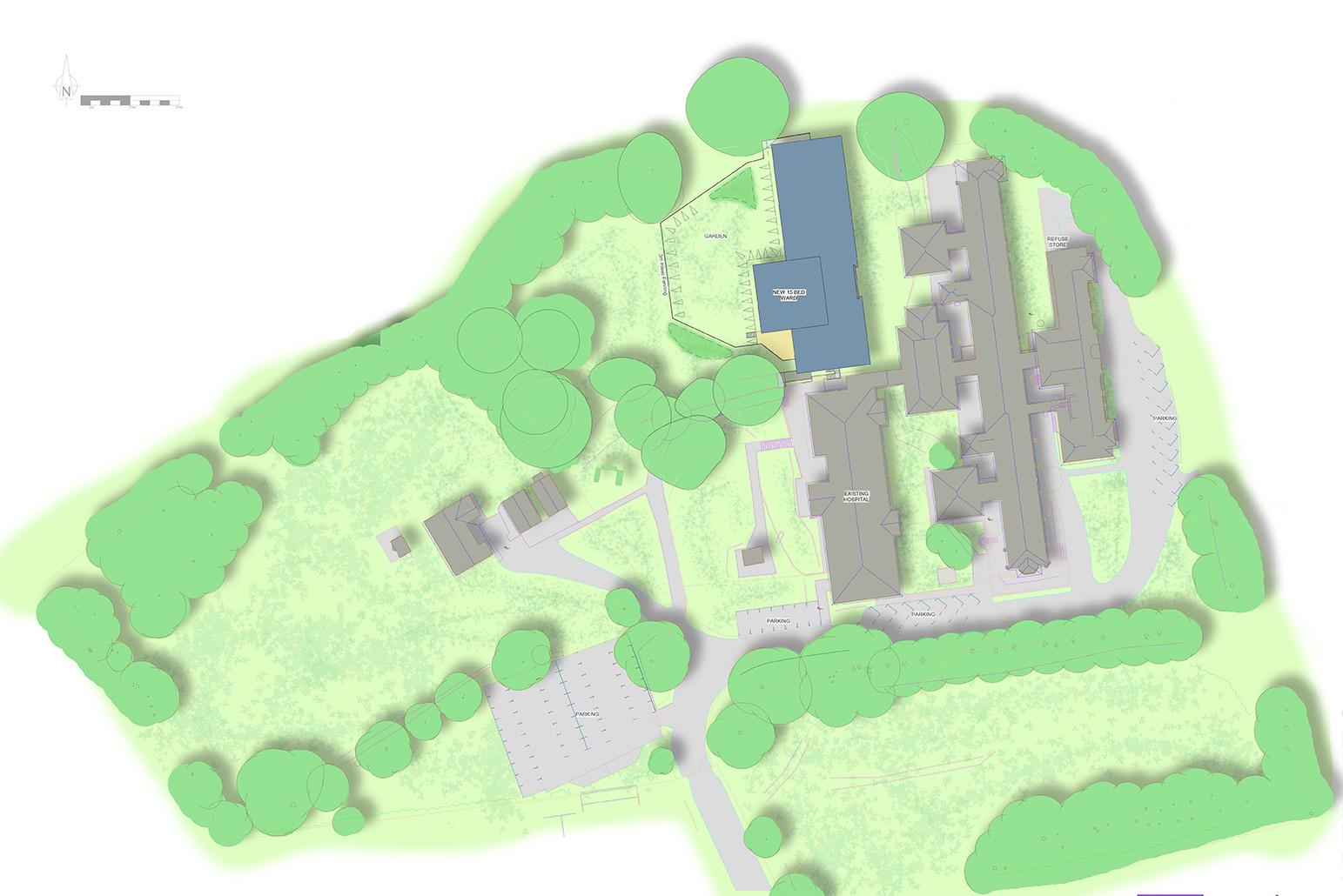 Aberbeeg Site Plan