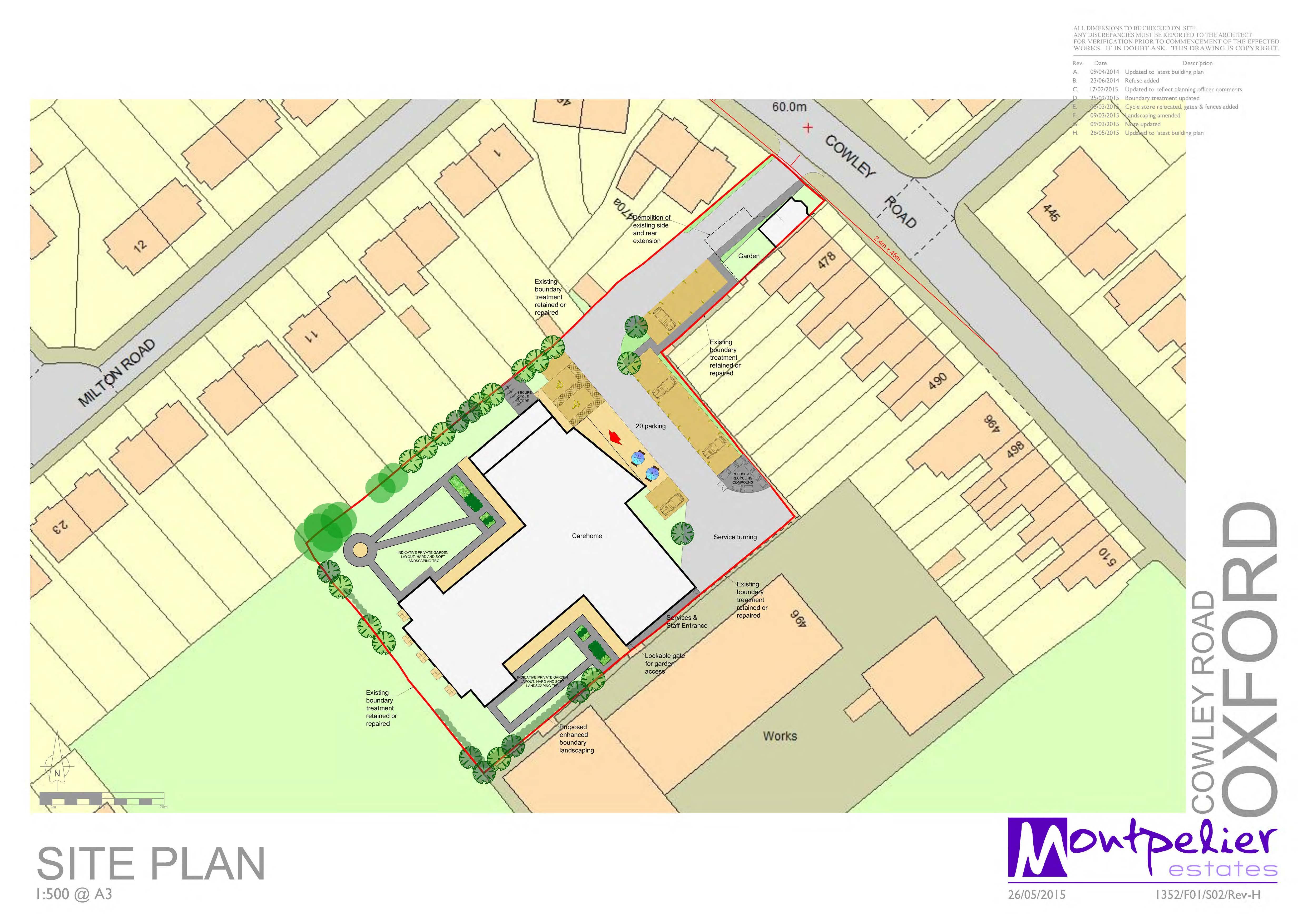 Cowley Site Plan