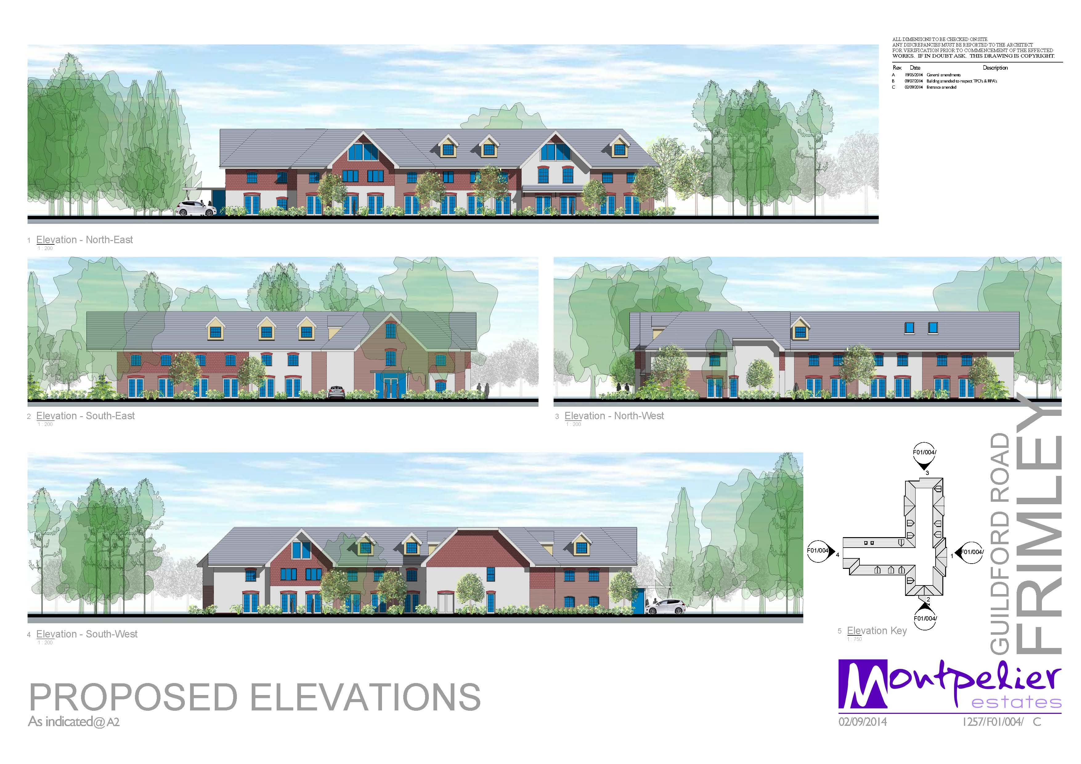 Frimley Care Elevations